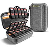 tomtoc 100 Games Storage Case for Nintendo Switch, Game Cards Holder, Cartridges Collection Organizer Fit PS Vita Physical Ga