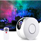 Star Projector, Galaxy Projector with LED Nebula Cloud, Laser Star Light Projector with Remote Control for Kids Adults Bedroo