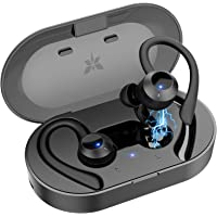 【2021進化版 Bluetooth イヤホン】完全 ワイヤレス イヤホン bluetooth 耳かけ スポーツ ランニ…