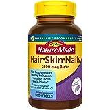 Nature Made Hair, Skin & Nails w. 2500 mcg of Biotin Softgels 60 Ct