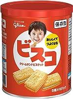 江崎グリコ ビスコ保存缶 30枚 ×5个