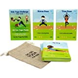 Kids Yoga Challenge Pose Cards: 1