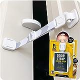 Door Buddy Child Door Lock and Foam Baby Door Stopper. Baby Proofing Doors Made Simple with Easy to Use Hook and Latch. Keep