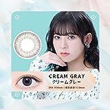 日本限定 Glam up グラムアップ カラコン Cream gray クリームグレー 1day 10枚入り 度あり 度なし (0.00)