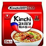 NONG SHIM Kimchi Ramyun, 5 x 120g