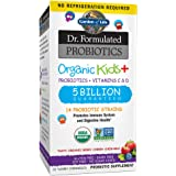 Garden of Life-Dr. Formulated Probiotics Organic Kids-Berry Cherry-Acidophilus and Probiotic Promotes Immune System,Digestive