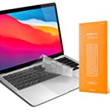 """UPPERCASE GhostCover Premium Ultra Thin Keyboard Cover Protector Compatible with 2020+ MacBook Air 13"""" with Intel Chips or Ap"""