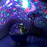 Elecstars LED Night Lighting Lamp Light up Your Bedroom with This Moon, Star,Sky Romantic - Best Gift for Men Women Teens Kid