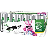 Energizer Rechargeable AA Batteries (16-Pack) Pre-Charged, 1.2V NiMH 2,000 mAH Rechargeable Batteries