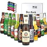 世界のビール[12ヵ国12本]飲み比べ ギフトセット【全品正規輸入品】【Amazon購入限定 アルミ製オリジナル栓抜きプ…