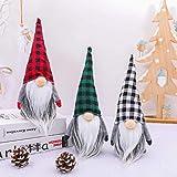 Gnomes Christmas Decoration Handmade Santa Scandinavian Gnome Tomte Plush Doll Home Tabletop Ornaments Santa Figurines Christ