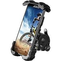 片手操作 自転車用 スマホ ホルダー スタンド Lomicall 2021 自転車 ワンタッチ スマートフォンホルダー…