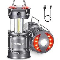 LEDランタン usb充電式 電池式 2in1給電方法 キャンプランタン フラッシュライト ポータブル テントライト 折…