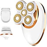 Electric Shaver for Women Leg Shaver Hair Remover Painless Lady Razor Waterproof Bikini Trimmer Rechargeable 3-IN-1 Lady Foil