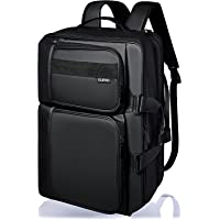 GLEVIO ビジネスリュック メンズ リュック バックパック 大容量 拡張機能付き ブラック 出張 PC 15.6イン…