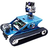 Yahboom Professional Raspberry Pi Tank Smart Robot Kit WiFi Wireless Video Programming Electronic DIY Robot Kit for Teens and