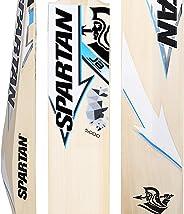 Spartan, Cricket, Grade 5 English Willow Cricket Bat, Blue, Short Handle