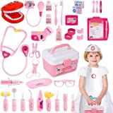 Gifts2U Toy Doctor Kit, Kids Pretend Play Toys Dentist Medical Role Play Educational Toy Doctor Playset for Boys Ages 3-6 (37