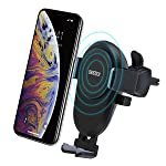 CHOETECH Wireless Car Charger, 7.5W Wireless Car Charging Mount Holder Compatible with iPhone Xs/XS Max/XR/X/ 8/8 Plus...
