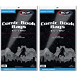 BCW Current Comic Bags - 200 Count