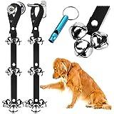 BLUETREE 2 Pack Dog Doorbells Premium Quality Training Potty Great Dog Bells Adjustable Door Bell Dog Bells for Potty Trainin