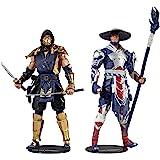 "McFarlane Toys 11031-9 Mortal Kombat Scorpion and Raiden 7"" Action Figure Multipack Yellow"
