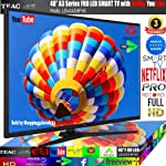 "TEAC 40"" Inch FHD Smart TV Netflix YouTube WiFi PVR Apps Store Made in Europe 3 Year Warranty"