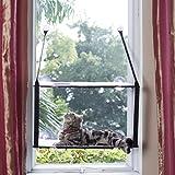 L.S 猫 ハンモック キャット ベッド 窓 耐荷重25kg ねこ はんもっく 日光 に付けられる 2層式 猫顔 吸盤…