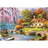 Kanzd Adults Puzzles 1000 Piece Landscape Puzzle Game Interesting Toys 16.5x11.7 Inch