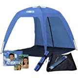 Thermalabs Large Open Beach Tent Cabana, 5X5 Anti Uv Sun Shelter Canopy Neptune: Shade The Whole Family! Easy Up Party, Sport