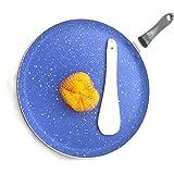 Nonstick Concave Flat Tawa Dosa Pan Dosa Tawa Roti Tawa Chapati Tawa Griddle Cooking also Dosa Indian Round Griddle Cookware