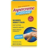 Aspercreme Pain Relieving Creme With Lidocaine, 2.7 Ounce, Pain Relieving Cream Helps Reduce and Numb Pain from Arthritis, Ba