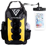Vitchelo 30L Waterproof Dry Bag Backpack for Outdoor Water Sports Kayaking Camping - Fly Fishing & Boating Gifts for Men - 10