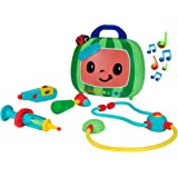 CoComelon Official Musical Checkup Case, Plays 'Doctor Checkup' song – Includes 4 Themed Medical Doctor Accessories (Thermome