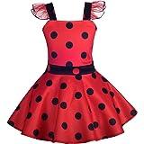 Dressy Daisy Girls Ladybug Dress Up Costume Birthday Fancy Dress Casual Outfit
