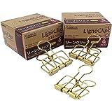 サンケーキコム リーンクリップ M LC-M20GD 10個入×2箱 ゴールド