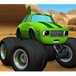 Blaze and the Monster Machines QHD(1080×960) The Team Truck Challenge
