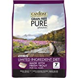 Canidae 3711 Grain Free Pure Stream Cat Dry Formula With Fresh Trout, 10 Lbs