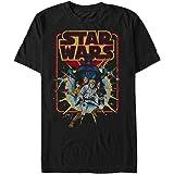 STAR WARS Men's Old School Comic Graphic T-Shirt