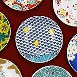 九谷焼 縁起 豆皿 千鳥 陶器 和食器 おしゃれ食器