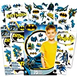 Batman Stickers & Tattoos Party Favor Pack (35 Stickers & 75 Temporary Tattoos) (Batman Stickers Batman Tattoos Set)