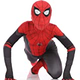 NikoNi Far from Home Spider-Man Suit for Kids Hero Expedition Spiderman Costume Cosplay Dress Siamese Tights Halloween Costum