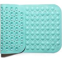 IRETION お風呂マット 浴槽 滑り止めマット 転倒防止 介護用品 痛くない オニイなし 吸盤付き 38×70cm…