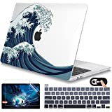 Mektron for MacBook Pro 13 inch 2020 Case M1 A2338 A2289 A2251 Retina Display Touch Bar, Smooth Hard Shell Cover with Keyboar