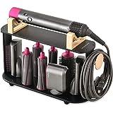 YILONG airwrap stand Desktop Stand Airwrap Styler Curling Barrels Brushes, Hair Curling Wand Holder, Countertop Bracket Stora