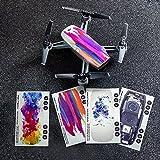 DJI Spark Skin 4 Pack (D4/D7/D8/TR) Djiskin4spark2 Genuine Blank, Multi