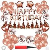 誕生日 飾り セット 風船 バースデー バルーン 豪華 HAPPY BIRTHDAY パーティー 装飾パーティー お祝い…