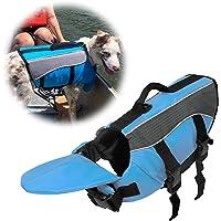 SILD 犬 ライフジャケット 小型犬 安全な泳ぎを補助 救命胴衣 ペットジャケット 犬用ライフジャケット 水泳の練習用…