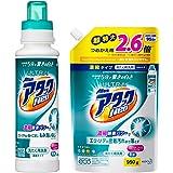 【Amazon.co.jp 限定】【まとめ買い】ウルトラアタックNeo 洗濯洗剤 濃縮液体 本体 400g+詰め替え950g