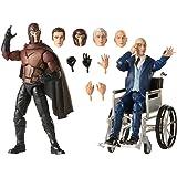 "Marvel Legends Series - X-Men Magneto & Professor X - 6"" Collectible Mutant Action Figures - Kids Toys & Collectible Figures"